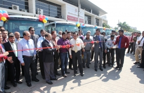Shafiat Sobhan Sanvir Inaugurated BG Bus Services