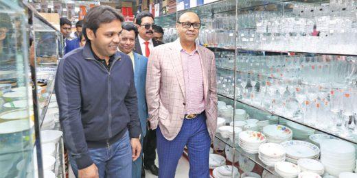 Shafiat Sobhan Sanvir Visits Bazar Sharabela